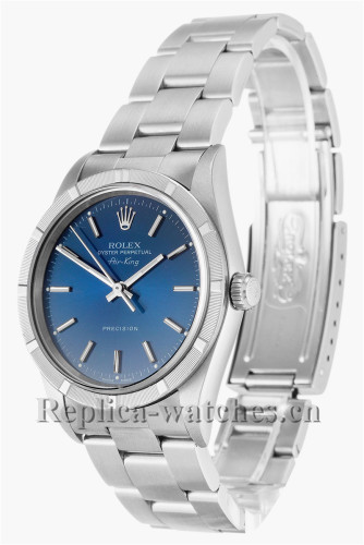 Rolex Air King Swiss 2836 Movement Stainless Steel Strap 14010M