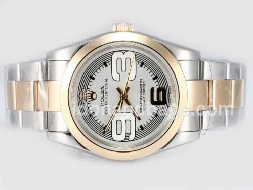 Rolex Air-King Oyster Perpetual Automatic Two Tone-New Version 17469