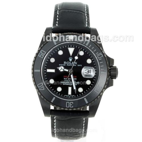 Rolex Submariner Pro-Hunter Automatic PVD Case Ceramic Bezel with Black Dial-Sapphire Glass 72401