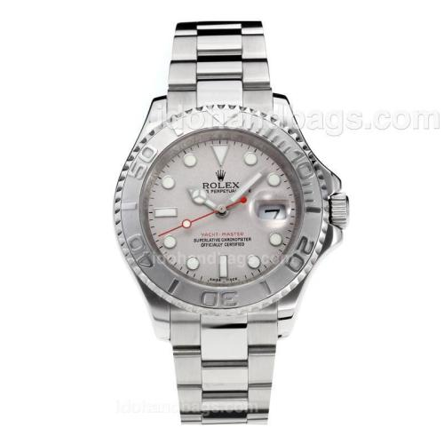 Rolex Yachtmaster Swiss ETA 2836 Movement with Super Luminous Silver Dial S/S-Sapphire Glass 187084