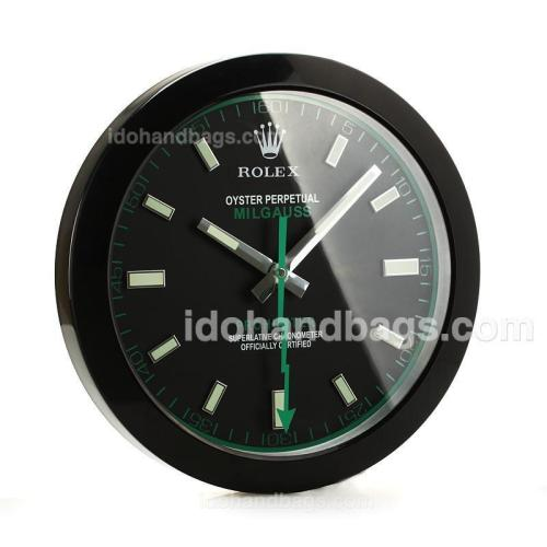 Rolex Milgauss Wall Clock Full PVD with Black Dial-White Stick Markers 189286