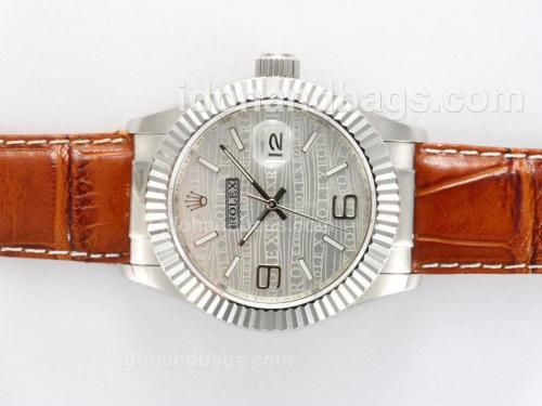 Rolex Datejust Automatic with Gray New Version 12761