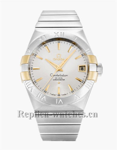 Omega Constellation 123.20.38.21.02.005 White Dial 38MM