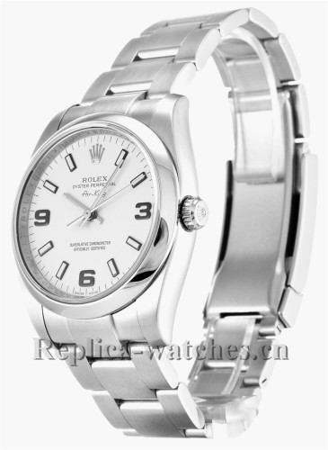 Rolex Air King Stainless Steel Strap 114200
