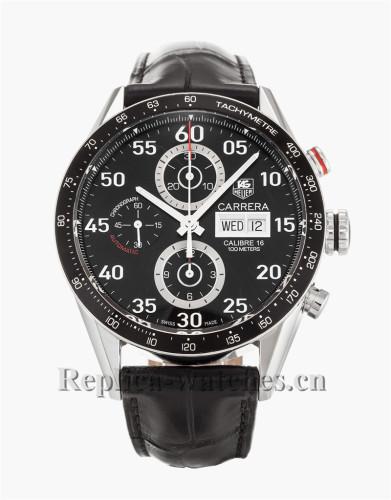 Tag Heuer Carrera Black Dial CV2A10.FC6235