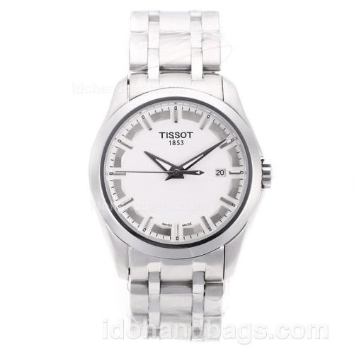 Tissot Classic Automatic with White Dial S/S 66118