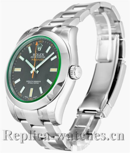 Rolex Milgauss Black Dial 40MM 116400 GV