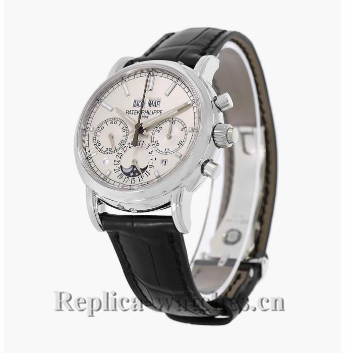 Patek Philippe Grand Complications Platinum Perpetual 40MM Watch 5204P010