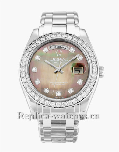 Rolex Day-Date Stainless Steel Strap 36MM 18946