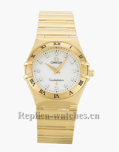 Omega Constellation Small White Dial 25MM 1172.75.00