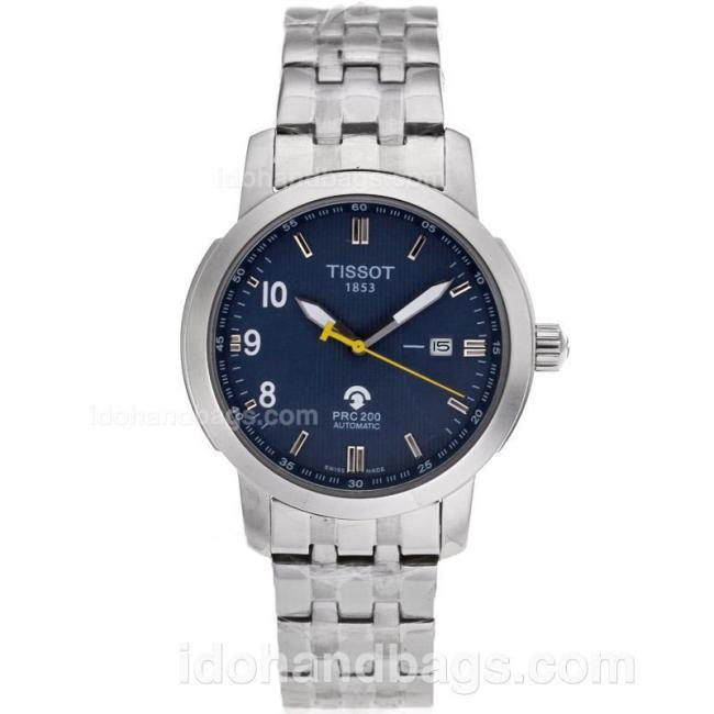 Tissot PRC200 Automatic with Dark Blue Dial S/S-Sapphire Glass 82582