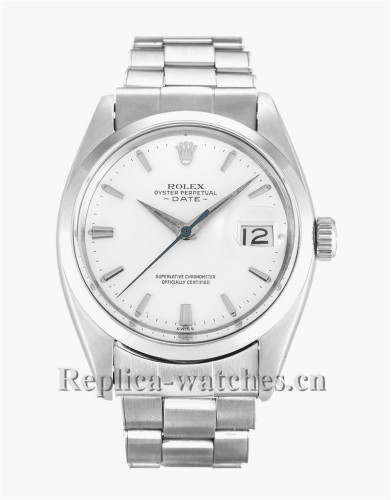 Rolex Oyster Perpetual Date White Dial 36MM 1500