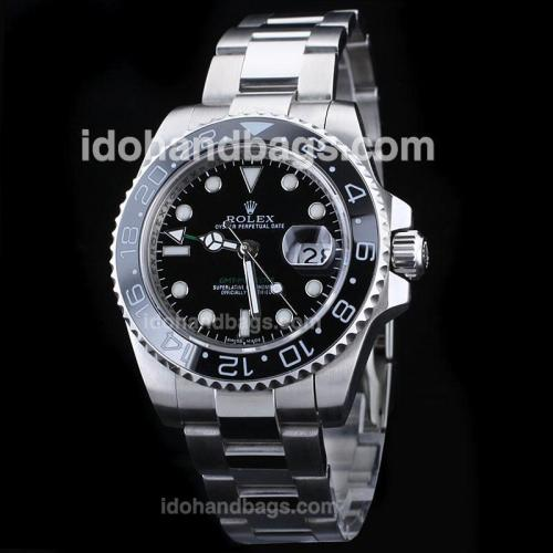 Rolex GMT-Master II Automatic with Green GMT Hand /Green GMT Markers-Ceramic Bezel 36538