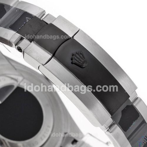 Rolex Datejust II Automatic Ceramic bezel with Red Dail -Ceramic Strap 80721
