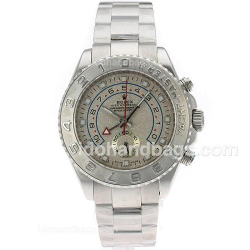 Rolex Yacht-Master II Automatic with Granite Dial S/S-Same Structure as ETA Version-High Quality 71704