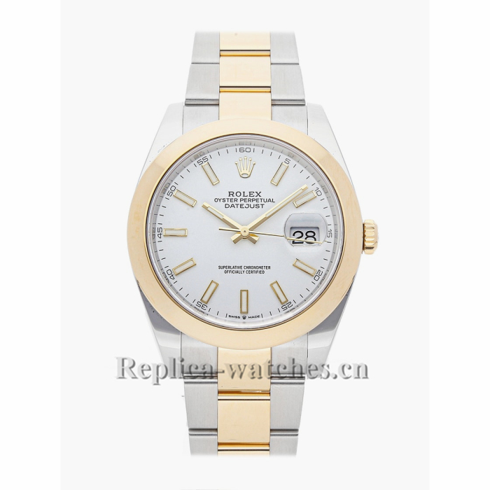 Rolex Replica Datejust White Dial 41MM 126303