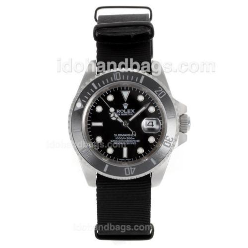 Rolex Submariner Automatic Ceramic Bezel with Black Dial-Sapphire Glass 117912