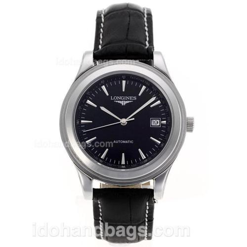 Longines Master Collection Automatic Stick Markers with Black Dial-Sapphire Glass 83762