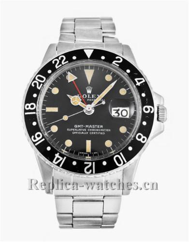 Rolex GMT Master Black Dial 40MM 1675-1