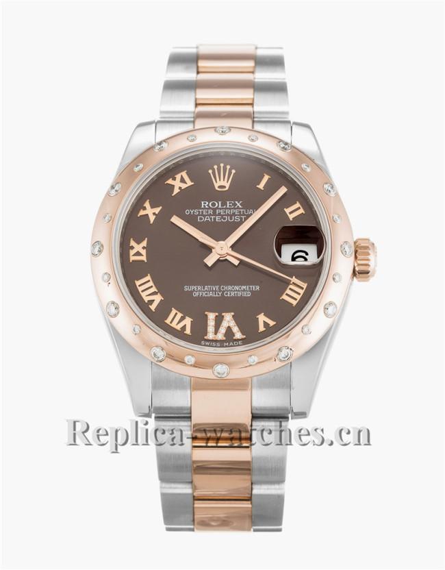 Rolex Datejust Lady Brown 31MM 178341