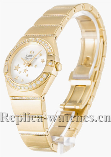 Omega Constellation White Dial 24MM 123.55.24.60.05.002
