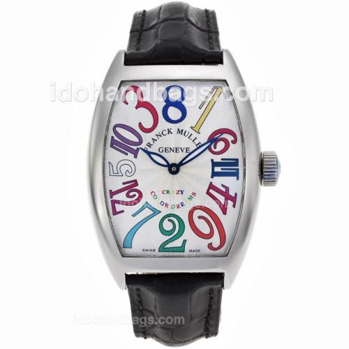 Franck Muller Crazy Hours Color Dreams Automatic -Jumbo Version 77247