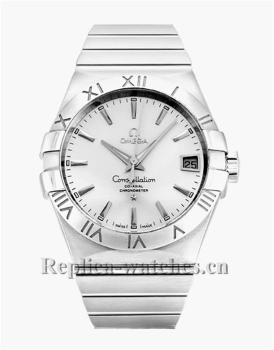 Omega Constellation 123.10.38.21.02.001 White Dial 38MM
