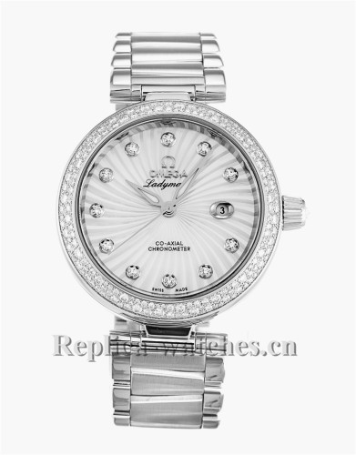 Omega De Ville Ladymatic Diamond Bezel 34MM 425.35.34.20.55.001