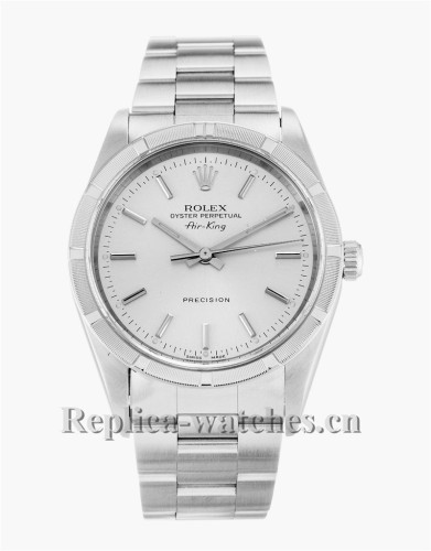 Rolex Air King Stainless Steel Strap 14010M
