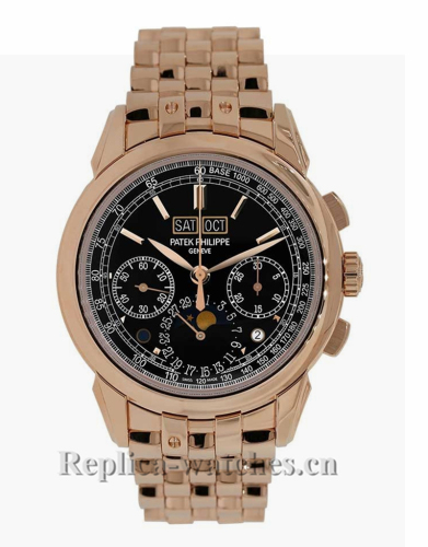 Patek Philippe Grand Complications Rose Gold Chronograph 41MM Watch 527001R001