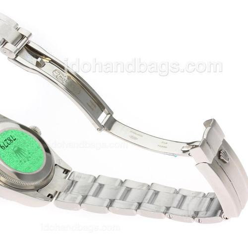 Rolex Air-King Swiss ETA 2836 Movement Roman Markers with Champagne Dial S/S-Mid Size 71761