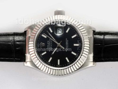 Rolex Datejust Automatic with Black Dial-New Version-40MM 20921