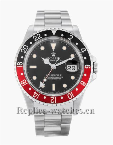Rolex GMT Master II Black Dial 40MM 16710