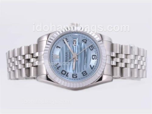 Rolex Datejust Automatic with Blue Dial 22881