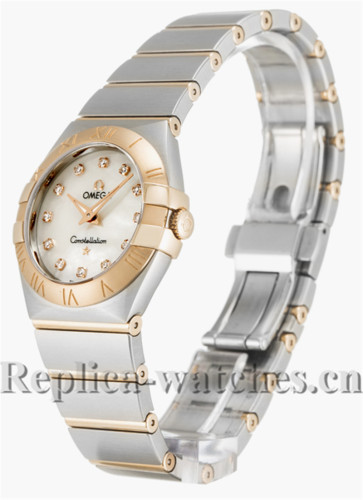Omega Constellation Small White Dial 27MM 123.20.27.60.55.001