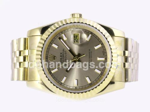 Rolex Datejust Automatic Full Gold with Golden Dial 23365