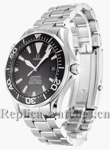 Omega Seamaster 300m Stainless Steel Strap Black Dial 41MM 2254.50.00