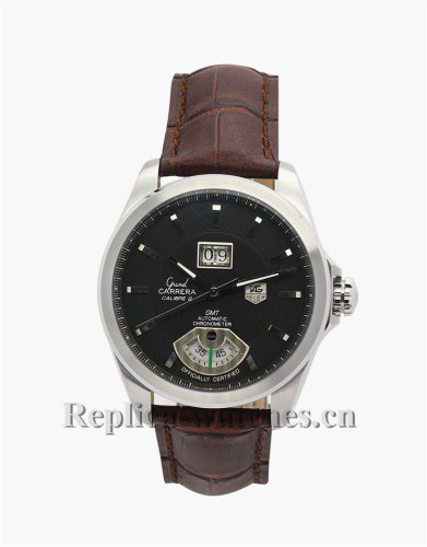 Tag Heuer Grand Carrera Black Dial 43MM WAV5113.FC6231