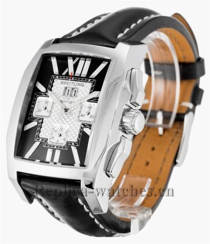 Breitling Bentley Flying B Chronograph Black Dial 39MM A44365
