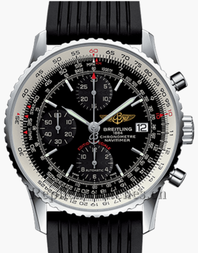 Breitling Navitimer Heritage A1332412 Black Dial Replica Watch