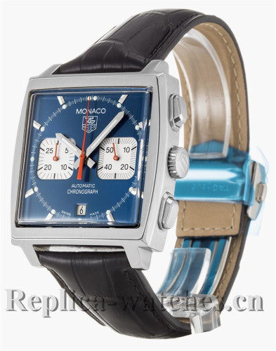 Tag Heuer Monaco Blue Dial 38MM CW2113.FC6183