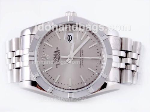 Rolex Datejust Automatic with Gray Dial 23122