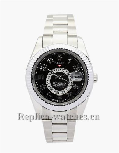 Rolex Sky-Dweller Black Dial 42MM 326938