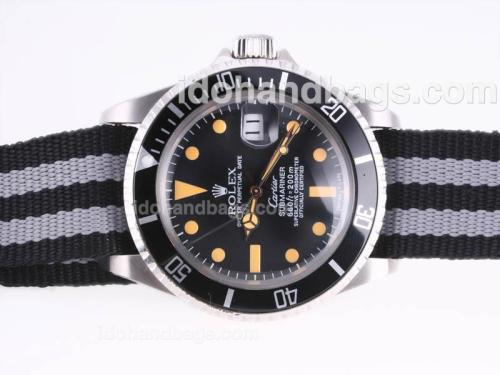 Rolex Submariner Automatic Vintage with Nylon Special Edition 23273