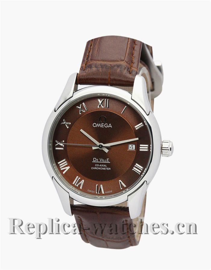 Omega De Ville Hour Vision Automatic Brown Dial 41MM