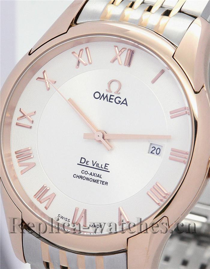 Omega De Ville Hour Vision Silver Dial 41MM
