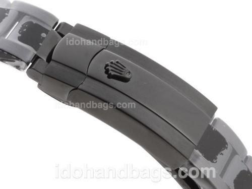 Rolex Milgauss Swiss ETA 2836 Movement Full PVD-Black-Out Edition 41035