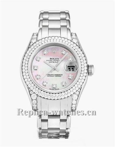 Rolex Pearlmaster Diamond Bezel 29MM 80359