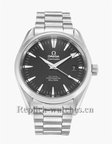 Omega Aqua Terra 150m Gents Black Dial 39MM 2503.50.00