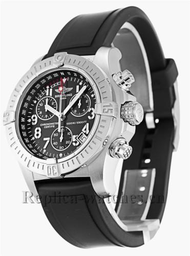 Breitling Avenger Seawolf Black Dial 45MM A73390